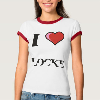 "Lady Souldiers ""I Heart Locke"" Ringer T-Shirt"