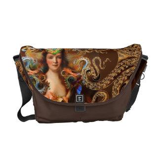 Lady Squid Messenger Bag