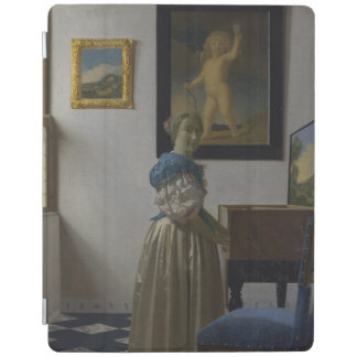 Lady Standing at a Virginal by Johannes Vermeer iPad Cover