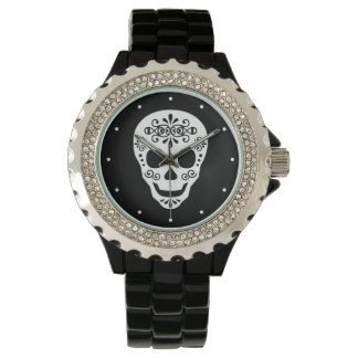 Lady Sugar Skull by Leslie Peppers Watch