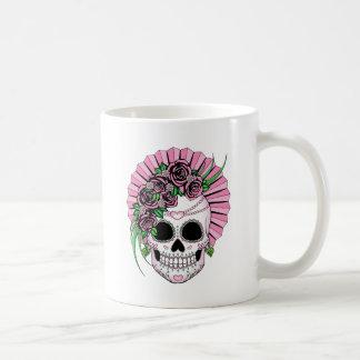Lady Sugar Skull Coffee Mug