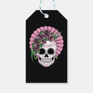 Lady Sugar Skull Gift Tags