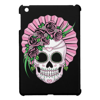 Lady Sugar Skull iPad Mini Cases