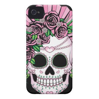 Lady Sugar Skull iPhone 4 Cases