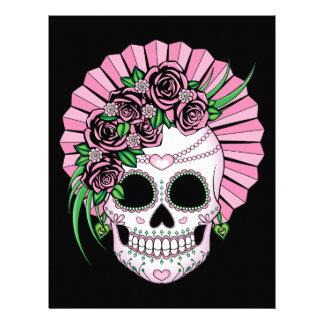 Lady Sugar Skull Letterhead