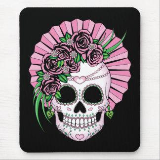 Lady Sugar Skull Mouse Pad