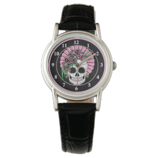 Lady Sugar Skull Watch
