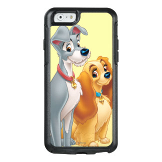 Lady & the Tramp   Classic Pose OtterBox iPhone 6/6s Case