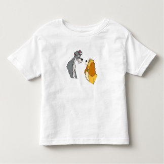 Lady & the Tramp's Lady and Tramp In Love Disney Toddler T-shirt