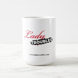 Lady Troubles Logo Mug