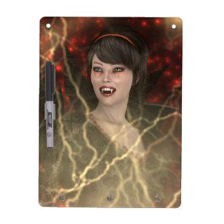 Lady Vamp Dry Erase Board