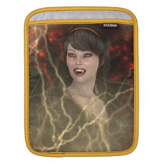 Lady Vamp iPad Sleeve