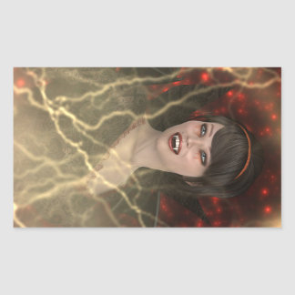 Lady Vamp Sticker