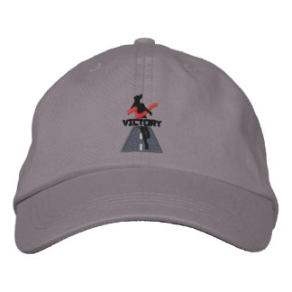 Lady Victory Runner Embroidered Cap Embroidered Hats