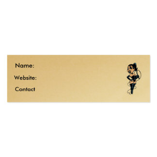 Lady Whip Profile Card Business Cards