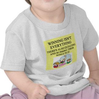 lady winner joke tshirt