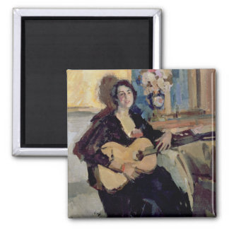 Lady with a Guitar, 1911 Magnet