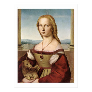 Lady with a Unicorn postcard