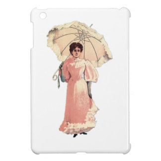 Lady With Parasol Case For The iPad Mini