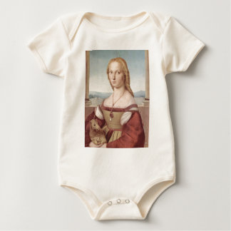 Lady with the Unicorn Raphael Santi Baby Bodysuit