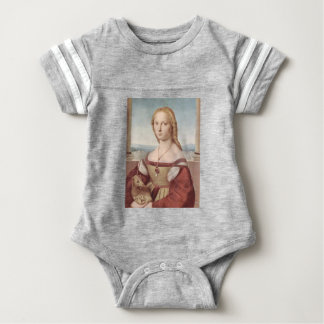Lady with the Unicorn Raphael Santi Baby Bodysuit