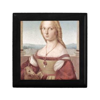 Lady with the Unicorn Raphael Santi Gift Box
