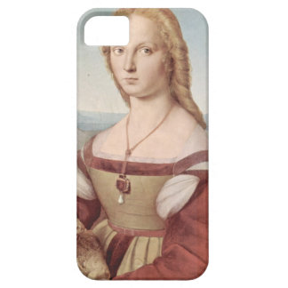 Lady with the Unicorn Raphael Santi iPhone 5 Cases