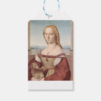 Lady with the Unicorn Raphael Santi Pack Of Gift Tags
