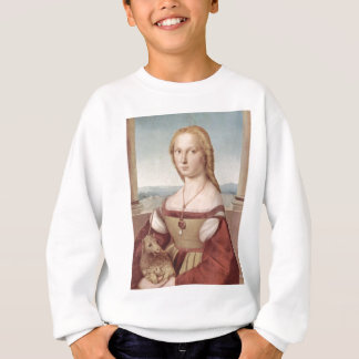 Lady with the Unicorn Raphael Santi Sweatshirt