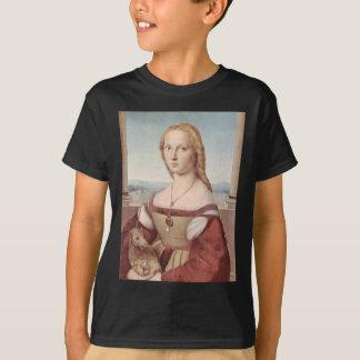 Lady with the Unicorn Raphael Santi T-Shirt