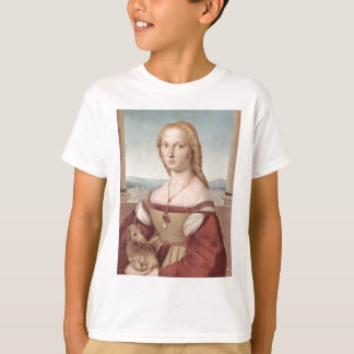 Lady with the Unicorn Raphael Santi T-Shirt