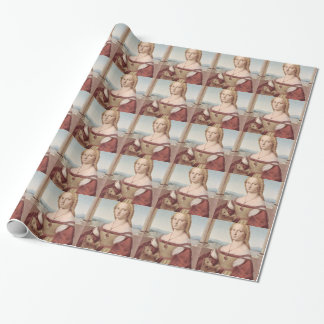 Lady with the Unicorn Raphael Santi Wrapping Paper