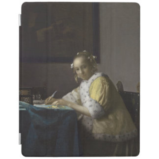 Lady Writing a Letter by Johannes Vermeer iPad Cover