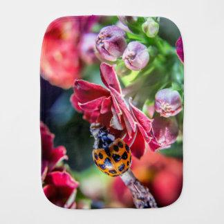 Ladybird Baby Burp Cloth