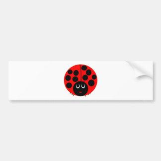 ladybird bumper sticker