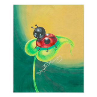 Ladybird, Ladybug, Either Way I'm Cute Poster