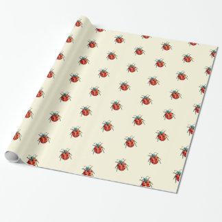 ladybird ladybug wrapping paper