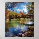 Ladybird Lake Running Trail Bridge - Austin, Texas Poster