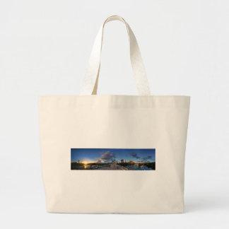 Ladybird lake Sunset in Austin, Texas Large Tote Bag