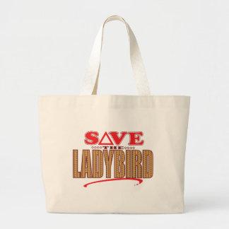 Ladybird Save Large Tote Bag