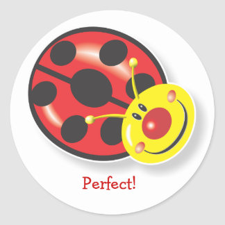 Ladybird Smiles! Reward Sticker