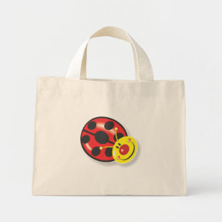 Ladybird Smiley Mini Tote Bag