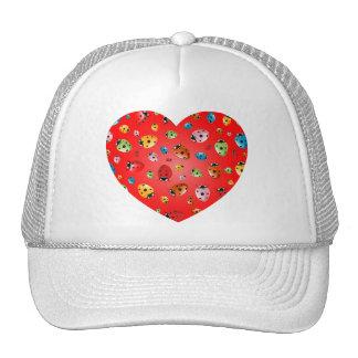 Ladybirds Heart Trucker Hat
