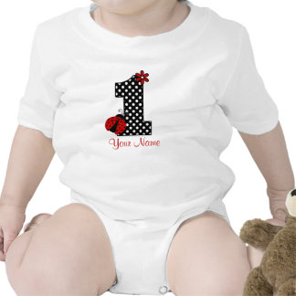 Ladybug 1st Birthday Shirt