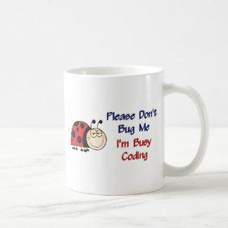 Ladybug-2 Medical Coder Basic White Mug