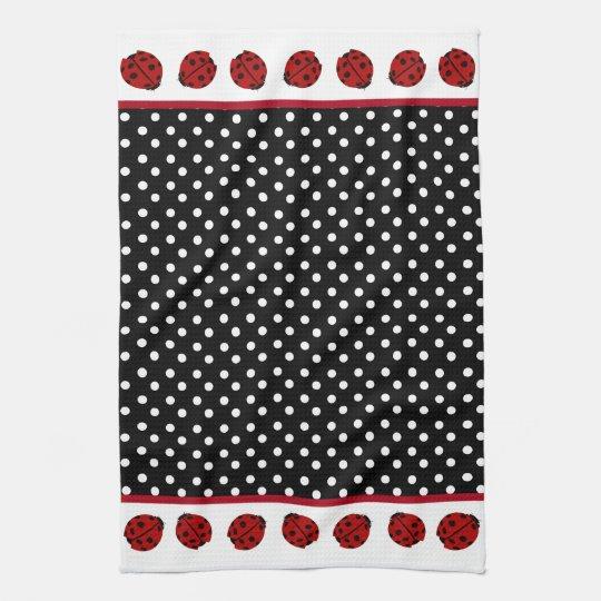 Ladybug American MoJo Kitchen Towel