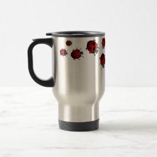 Ladybug Art Travel Mug Gifts Ladybug  Mugs