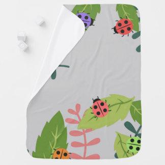 Ladybug baby blanket for both boys and girls