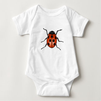 Ladybug Baby Bodysuit