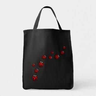 Ladybug Bags Cute Ladybug Ladybird Art Tote Bags